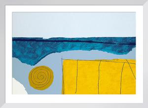 Elba, 1998 (Silkscreen print) by Walter Fusi