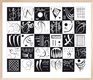 Thirty, 1937 (Silkscreen print) by Wassily Kandinsky