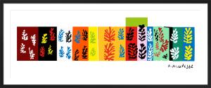 The Velvets (Silkscreen print) by Henri Matisse