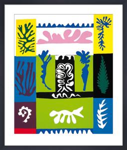 Amphitrite, 1947 (Silkscreen print) by Henri Matisse