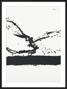 Beside the sea No.24, 1962 (Silkscreen print) by Robert Motherwell