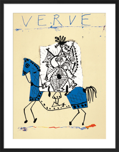 Cover for Verve, 1951 (Silkscreen print) by Pablo Picasso