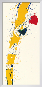 Untitled 1985 (Silkscreen print) by Sam Francis