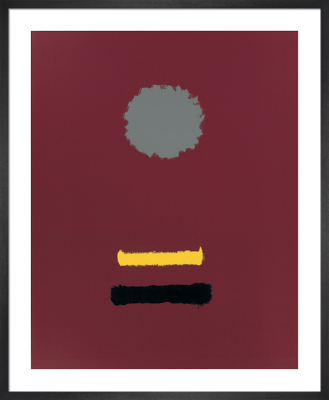 Untitled, 1969 (Silkscreen print) by Adolph Gottlieb