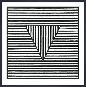 Triangle, 1980 (Silkscreen print) by Sol LeWitt