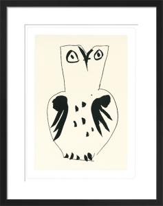 Chouette (Silkscreen print) by Pablo Picasso