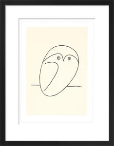 Le hibou (Silkscreen print) by Pablo Picasso