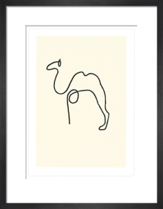 The Camel (Silkscreen print) by Pablo Picasso