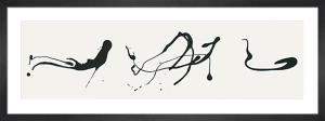 Zeichnung tröpftechnik (Silkscreen print) by Jackson Pollock
