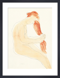 Le jardin des supplices (Silkscreen print) by Auguste Rodin