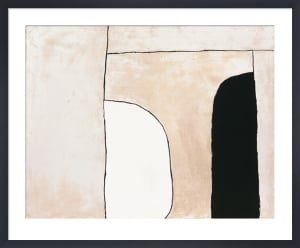 Way in, 1963 (Silkscreen print) by William Scott