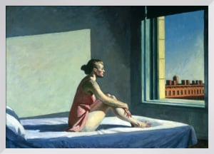 Morning Sun, 1952 by Edward Hopper