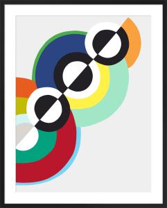 Rhythms by Robert Delaunay