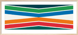 Tropical Zone, 1964 by Kenneth Noland