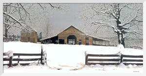 Winters Gift (Detail) by Bob Timberlake
