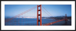 Golden Gate Bridge, San Francisco by David Lawrence