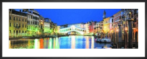 Rialto Bridge, Venice by John Lawrence