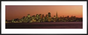 San Francisco at Sunset by Lorentz Gullachsen