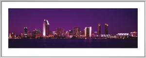 San Diego Skyline by Christian Michaels
