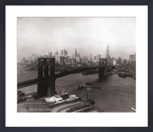 Brooklyn Bridge, 1932 by B & W Collection
