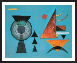 Weiches Hart, 1927 by Wassily Kandinsky
