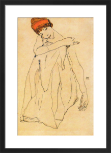 The Dancer by Egon Schiele