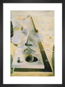 Apparition of the Face of Aphrodite by Salvador Dali