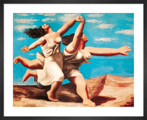 Two Women Running an the Beach by Pablo Picasso