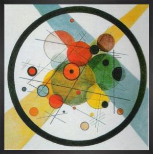 Kreise in Kreise by Wassily Kandinsky