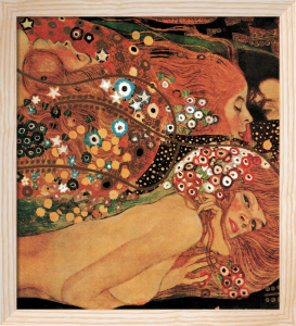 Rough Water by Gustav Klimt