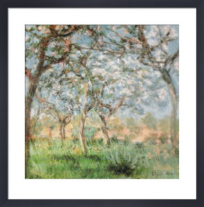 Springtime by Claude Monet