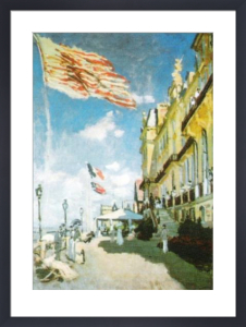 Hotel des Roches Noires, Trouville by Claude Monet