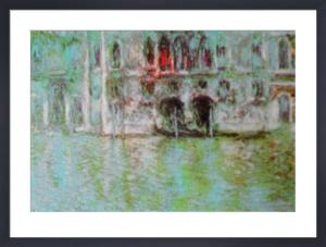 The Palazzo da Mula, Venice by Claude Monet