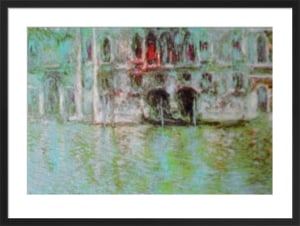 The Palazzo da Mula, Venice by Claude Monet