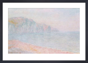 Cliffs at Pourville, Morning by Claude Monet