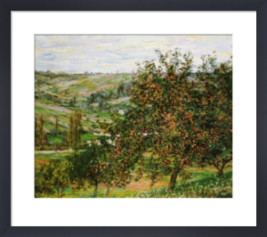 Apple Tree at Vetheuil, 1877 by Claude Monet