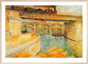 The Bridge of Asnieres by Vincent Van Gogh