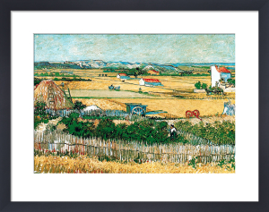 The Reaping by Vincent Van Gogh