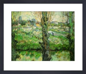 View of Arles, 1889 by Vincent Van Gogh