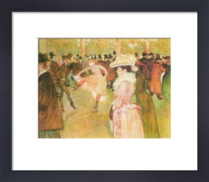 At the Moulin Rouge: The Dance by Henri de Toulouse-Lautrec