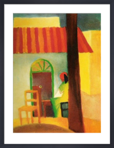 Turkish Café by August Macke