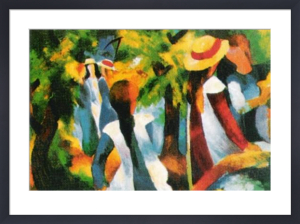 Girls under the Trees by August Macke