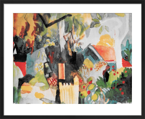 Landscape by August Macke