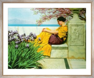 Under the Blossom that Hangs on the Bough, 1917 by John William Godward