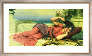 Noon-Day Rest, 1910 by John William Godward