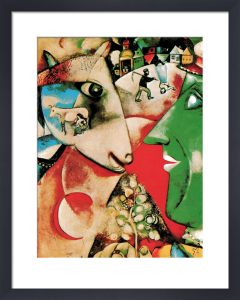 I and the Village by Marc Chagall