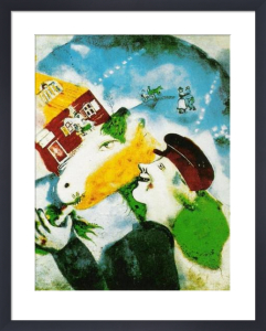 The Rural Life by Marc Chagall