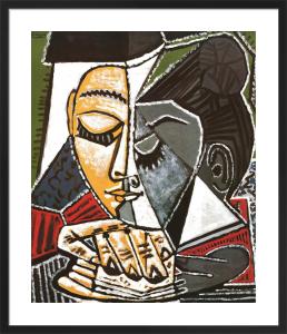 Tete d'une Femme Lisant by Pablo Picasso