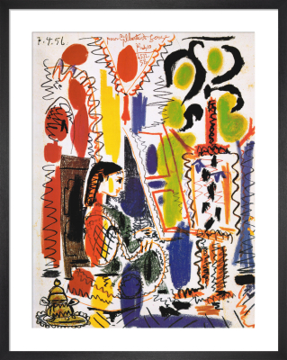 L'Atelier á Cannes by Pablo Picasso