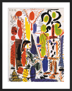 L'Atelier á Cannes by Pablo Picasso
